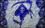The Blue Reaper Avatar